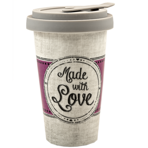 Made with Love – Porzellan Coffee to go Becher