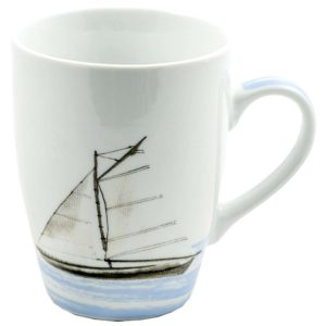 Sailing Becher Blau