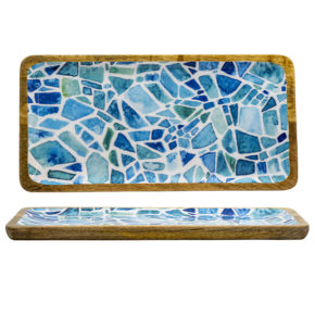 Schale – Mango Mosaik 40 x 23 cm