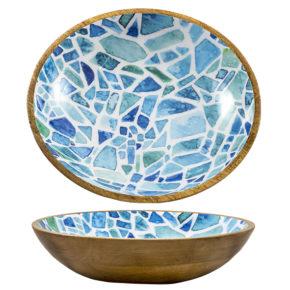 Schale – Mango Mosaik ø35cm