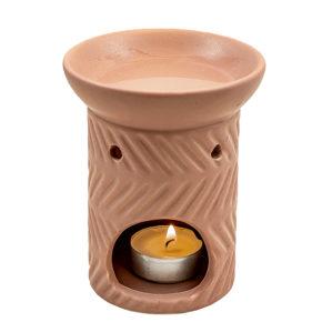 Duftlampe aus Keramik – Rosa