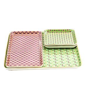 Servierplatten-Kombi – 4er Set
