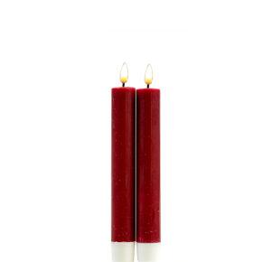 Deluxe Stabkerze 15 cm – Rot