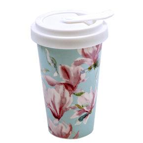 Magnolia – Porzellan Coffee to go Becher