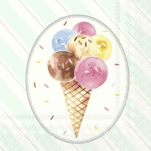 OH HAPPY ICE CREAM – Lunch-Servietten