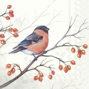 DREAMING WINTER BIRD  – Lunch-Servietten