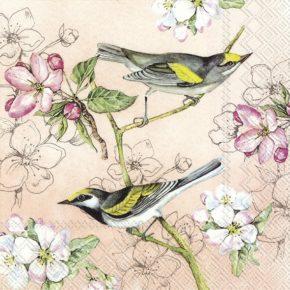 BIRDS SYMPHONY  – Lunch-Servietten