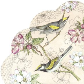 BIRDS SYMPHONY  – Rondo-Servietten