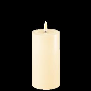 Deluxe Stumpfkerze Ø7,5*15cm – Cream